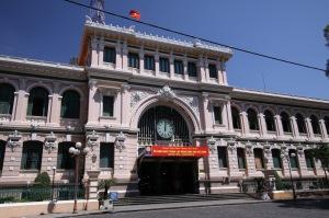 Exterior of Post Office Saigon