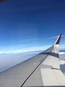 flying to Srinagar with Vistara airlines